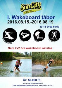 I. Wakeboard tábor